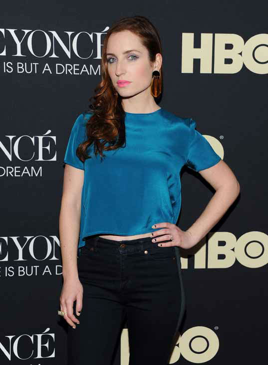 Actress Zoe Lister-Jones attends the premiere of &#34;Beyonce: Life Is But A Dream&#34; at the Ziegfeld Theatre on Tuesday, Feb. 12, 2013 in New York. &#40;Photo by Evan Agostini&#47;Invision&#47;AP&#41; <span class=meta>(Photo&#47;Evan Agostini)</span>
