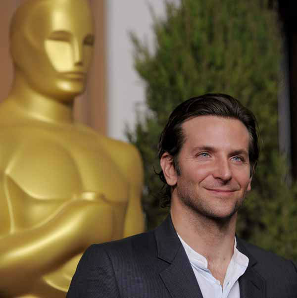 "<div class=""meta ""><span class=""caption-text "">Bradley Cooper, nominated for best actor in a leading role for ""Silver Linings Playbook,"" arrives at the 85th Academy Awards Nominees Luncheon at the Beverly Hilton Hotel on Monday, Feb. 4, 2013, in Beverly Hills, Calif. (Photo by Chris Pizzello/Invision/AP) (Photo/Chris Pizzello)</span></div>"