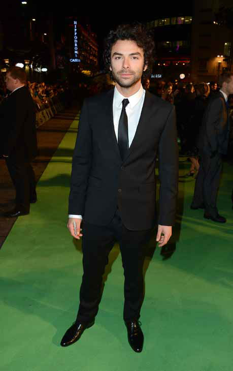 Actor Aidan Turner arrives at the UK premiere of &#34;The Hobbit: An Unexpected Journey&#34; at The Odeon Leicester Square, London on Wednesday, Dec. 12, 2012. &#40;Photo by Jon Furniss&#47;Invision&#47;AP&#41; <span class=meta>(Photo&#47;Jon Furniss)</span>