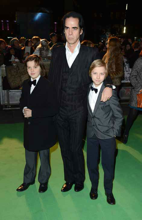 "<div class=""meta image-caption""><div class=""origin-logo origin-image ""><span></span></div><span class=""caption-text"">Nick Cave and family seen at the UK premiere of The Hobbit: An Unexpected Journey at The Odeon Leicester Square on Wednesday, Dec. 12, 2012, in London. (Photo by Jon Furniss/Invision/AP) (Photo/Jon Furniss)</span></div>"