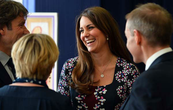 The Duchess of Cambridge visits The Willows Primary School, Wythenshawe, Manchester, England, where she launched a new school counselling programme, Tuesday April 23, 2013. &#40;AP Photo&#47;Paul Ellis, Pool&#41; <span class=meta>(AP Photo&#47; Paul Ellis)</span>