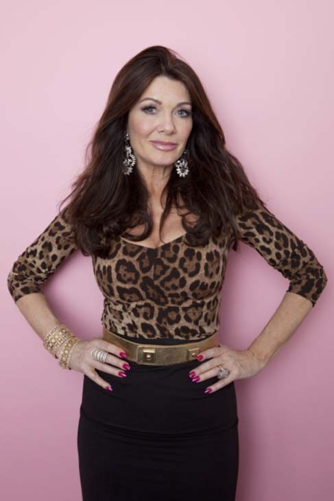 Real Housewives of Beverly Hills personality Lisa Vanderpump poses for a portrait, on Monday, Jan. 7, 2013 in New York. (Photo by Amy Sussman/Invision/AP Images).