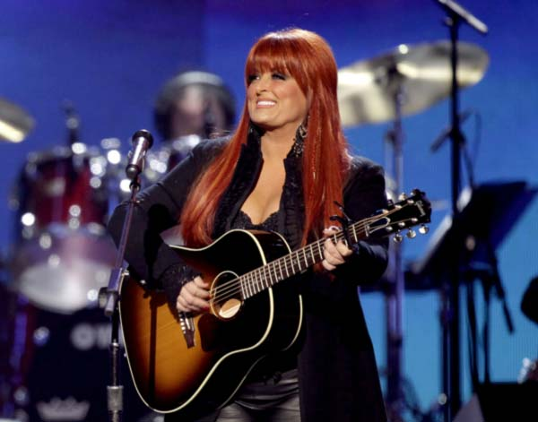 This April 4, 2011 file photo shows country winger Wynonna Judd from The Judds, performing at the Girls' Night Out: Superstar Women of Country in Las Vegas.  (AP Photo/Julie Jacobson, file)