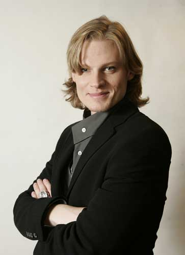 This undated photo supplied by ABC shows Jeffrey Carlson who plays a transgender character on ABC&#39;s soap opera &#34;All My Children.&#34; The storyline with Carlson&#39;s character, a flamboyant rock star known as Zarf, begins on the Thursday, Nov. 30, 2006 episode of the daytime drama.  <span class=meta>(&#40;AP Photo&#47;ABC,Lou Rocco&#41;)</span>