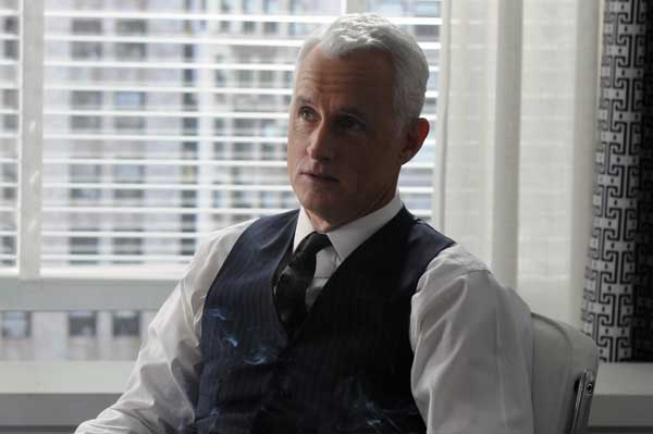 "<div class=""meta ""><span class=""caption-text "">In this publicity image released by AMC, John Slattery portrays ad executive Roger Sterling Jr.in a scene from ""Mad Men.""  (AP Photo/AMC)</span></div>"