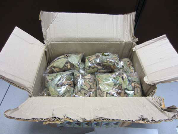 &#34;Invoiced as &#39;Traditional Medicines,&#39; the parcel was opened and found to contain 38 small plastic bags of woodchips and leaves. CBP officers tested the woodchips and leaves resulting in a positive reaction for opium.&#34; &#40;Info from US Customs press release&#41; <span class=meta>(CBP)</span>