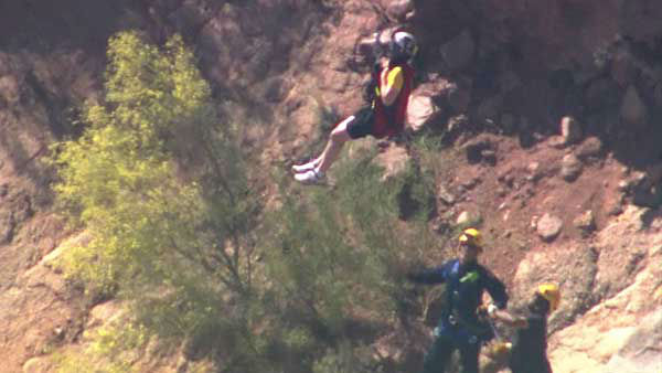 "<div class=""meta image-caption""><div class=""origin-logo origin-image ""><span></span></div><span class=""caption-text"">A Chicago man and his 5-year-old son were airlifted from Camelback Mountain in Arizona after they got lost on Cholla Trail. (WLS Photo)</span></div>"