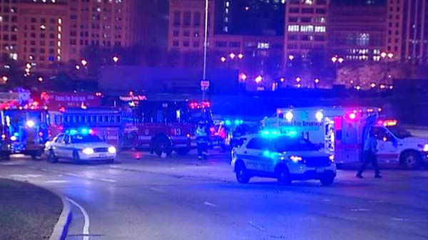 "<div class=""meta image-caption""><div class=""origin-logo origin-image ""><span></span></div><span class=""caption-text"">Four people were hurt when a wrong-way driver crashed head-on into a cab on Lake Shore Drive near Randolph early Friday, May 2, 2014.  (WLS Photo)</span></div>"