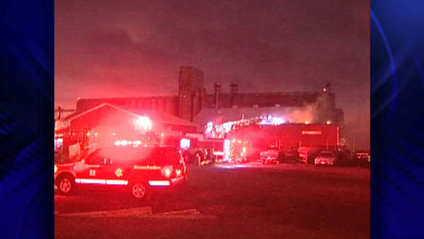 "<div class=""meta image-caption""><div class=""origin-logo origin-image ""><span></span></div><span class=""caption-text"">Firefighters battled a warehouse blaze at 12653 South Doty in Chicago Thursday night.</span></div>"