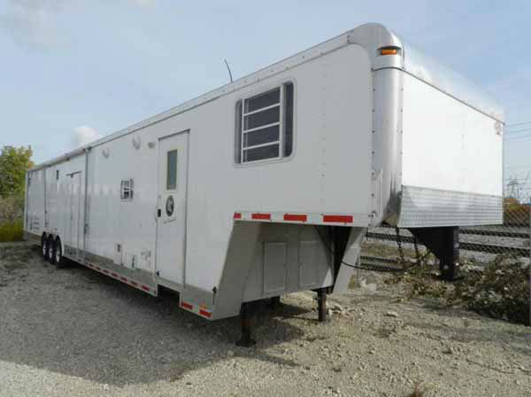 "More items belonging to former Dixon comptroller Rita Crundwell are about to go up for auction.  Read more. 	2009 US Cargo Eliminator 50' trailer w/ living qtr 14' living quarters and slide-out. ""United States of America v. Rita A Crundwell"""