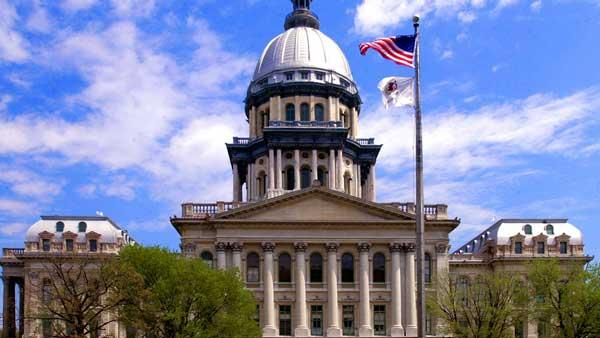 File photo of Illinois State Capitol building