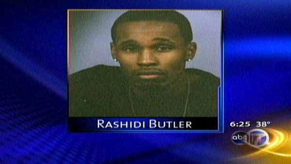 Rashidi Butler, 30, was shot while inside a parked car.