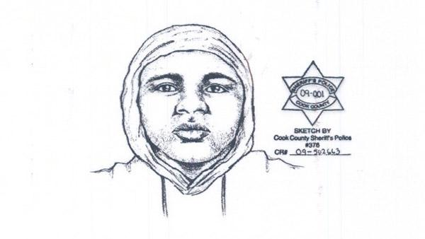 Chicago police have released a sketch of a man they are looking for in connection with a series of attacks at a train station along Metras electric line.