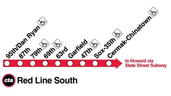 CTA to close 9 South Side Red Line stations