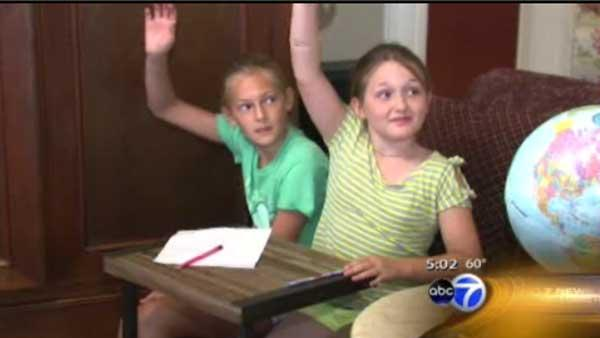 Lakeview moms hold 'strike school'