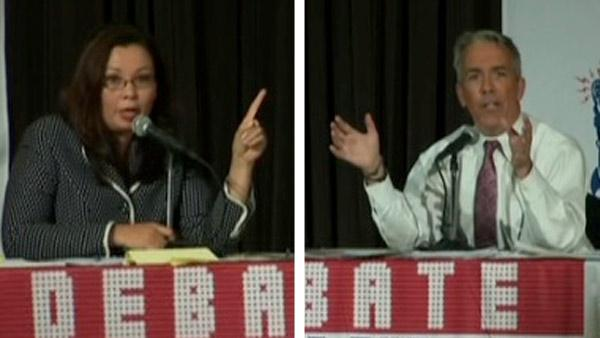 Walsh, Duckworth clash in 8th District debate