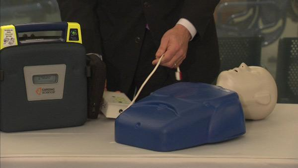 About 300 defibrillators being installed in Metra trains