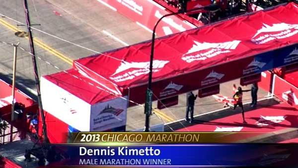 Chicago Marathon record broken