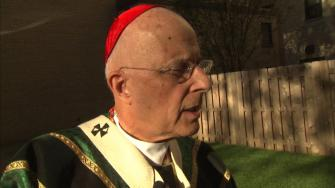 Chicagos Cardinal Francis George has written a letter he asked be posted in churches. George oversees the Archdiocese of Chicago, which serves more than 2 million Catholics in northeastern Illinois.