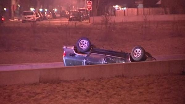 Man dead in I-57 rollover crash