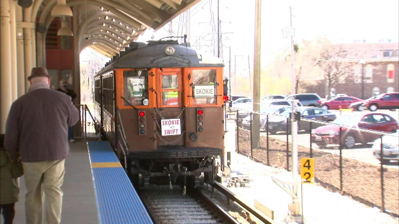 The Chicago Transit Authority is celebrating the fiftieth anniversary of the Yellow Line.