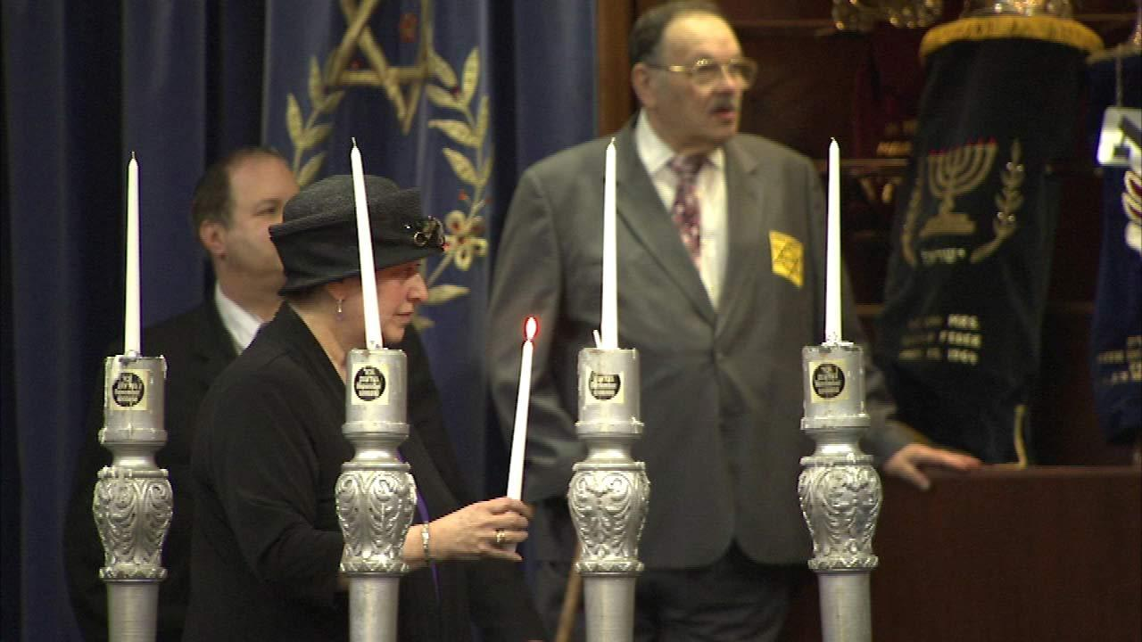 An annual memorial service in Skokie answers the call to never forget the Holocaust.