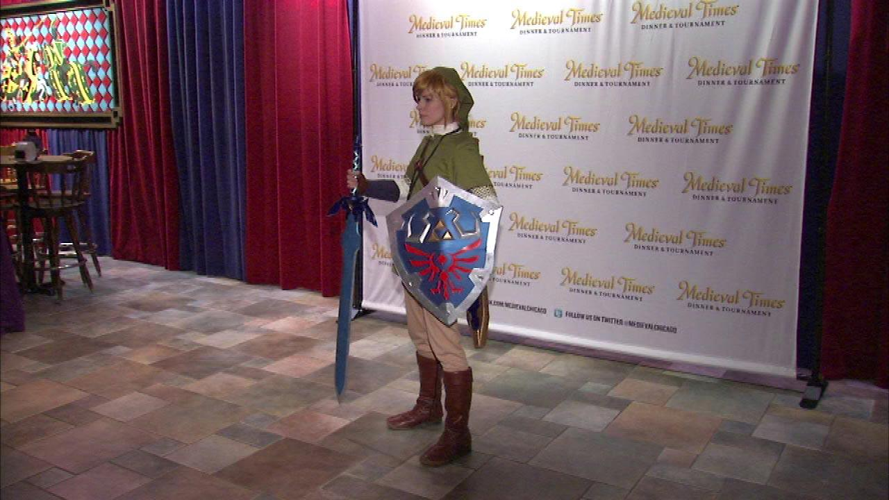 Fans of the Medieval Times Dinner and Tournament event in Schaumburg got to be a part of the fun Tuesday night.