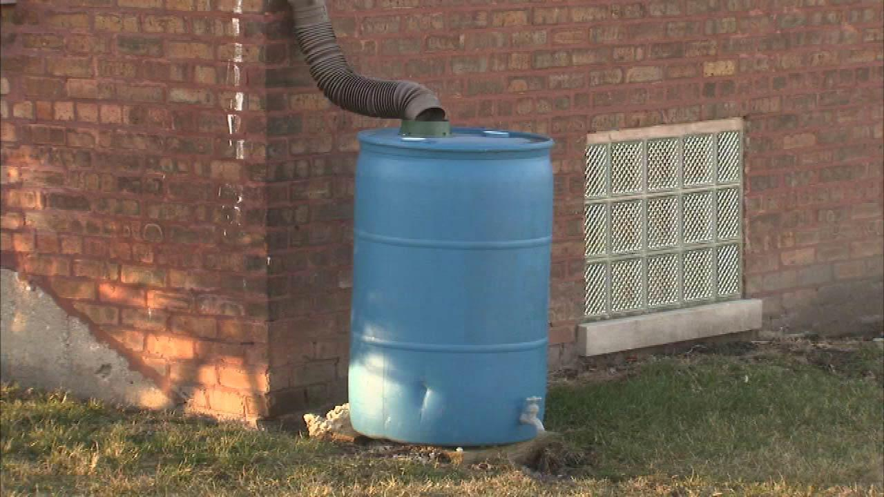 West suburban Glen Ellyn is offering an incentive to people who buy rain barrels.