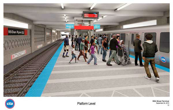 Chicago Mayor Rahm Emanuel&#39;s office released images of design plans for the new 95th Street CTA Red Line station. <span class=meta>(Photo&#47;Tom Alexander)</span>