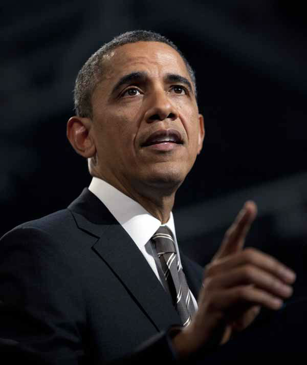 "<div class=""meta ""><span class=""caption-text "">President Barack Obama gestures as he speaks at Hyde Park Academy on Friday, Feb. 15, 2013, in Chicago. Obama is traveling to promote the economic and educational plan he laid out in his State of the Union address.  (AP Photo/Evan Vucci) (AP Photo/ Evan Vucci)</span></div>"