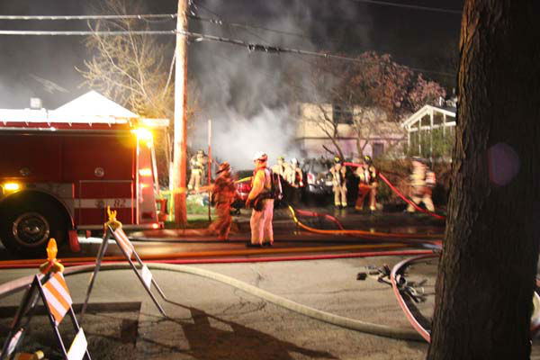 "<div class=""meta ""><span class=""caption-text "">No one was injured when a Villa Park garage exploded and caught fire just after midnight Sunday. Three cars were destroyed and there was some damage to the adjacent home.   (Photo/TVVPStyle News Al Stasch)</span></div>"
