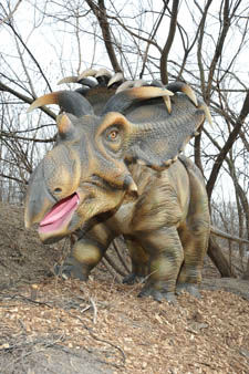 Dinosaurs Alive! is &#36;5 for adults and &#36;3 for children and seniors over 65 in addition to regular zoo general admission of &#36;15 for adults and &#36;10.50 for children and seniors over 65. Children 2 and under are free.  <span class=meta>(Jim Schulz&#47;Chicago Zoological Society)</span>