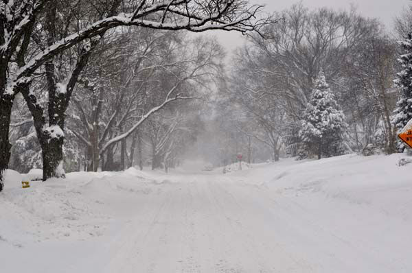 Beautiful snowy day  in Hinsdale. <span class=meta>(FACEBOOK&#47;Monica Stec Pajak)</span>