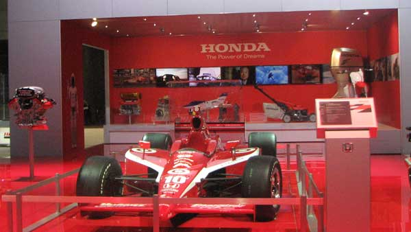 The latest Formula One Race Car, on display at the 2012 Chicago Auto Show, located at McCormick Place in Chicago on Monday, Feb. 13, 2012. <span class=meta>(Joanna Wesoly, ABC 7 Chicago)</span>