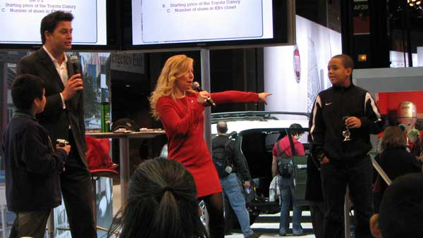 "<div class=""meta image-caption""><div class=""origin-logo origin-image ""><span></span></div><span class=""caption-text"">The winner of Toyota's game gets pointed out and wins a prize at the 2012 Chicago Auto Show, located at McCormick Place in Chicago on Monday, Feb. 13, 2012.  (Joanna Wesoly, ABC 7 Chicago)</span></div>"