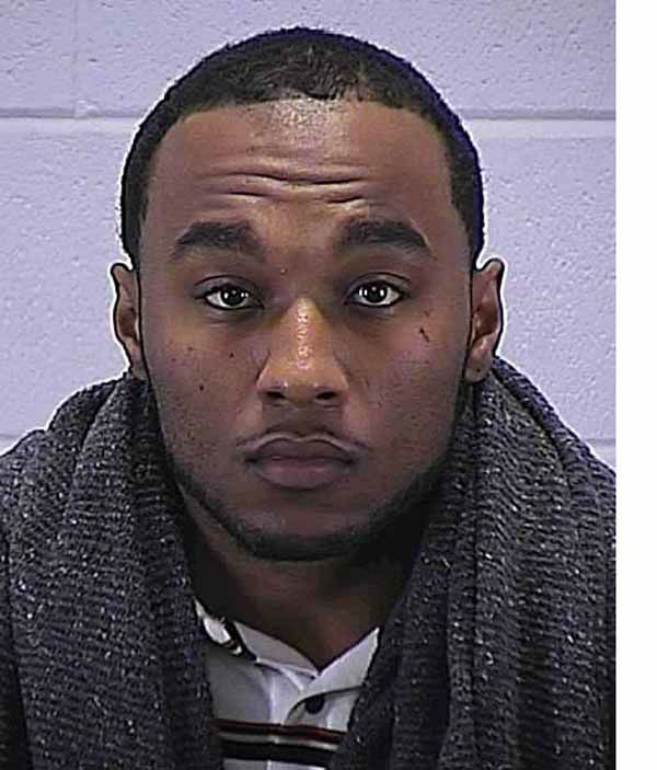 Byron Charles Young, 21, of the 2100 block of E. 68th in Chicago, who accompanied Ms. Flynn to the setup location, is charged with aggravated unlawful use of a weapon after a pistol was located in his vehicle incident to his arrest, police say.