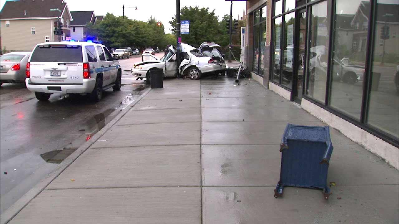 A crash on Chicagos South Side left one woman dead and sent at least two other people to area hospitals.