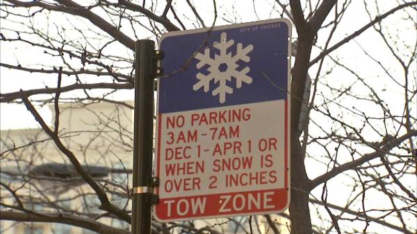 Overnight winter parking ban starts Sunday