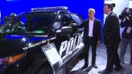 Mayor Rahm Emmanuel helped get the Chicago Auto Show underway at McCormack Place Saturday.