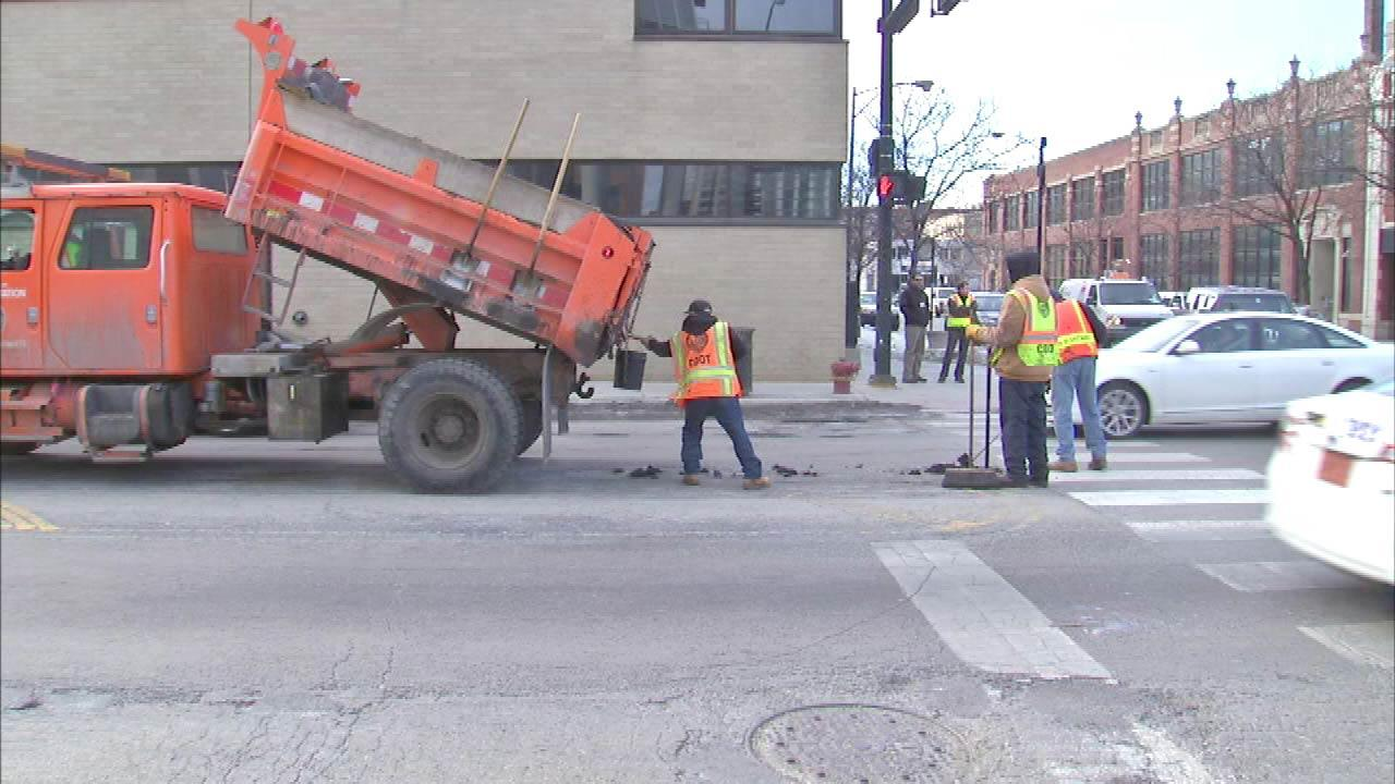 The pothole problem is so bad in Chicago the mayor is adding more crews to help repair them.