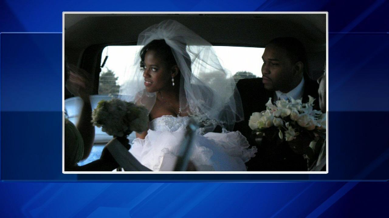 Akela Johnson, 27, married Kenneth Montgomery, 25, on Saturday in suburban Schiller Park.