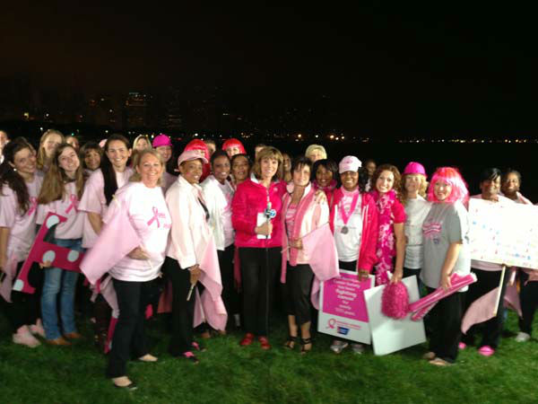 "<div class=""meta ""><span class=""caption-text "">Roz Varon and supporters mark Breast Cancer Awareness Month</span></div>"
