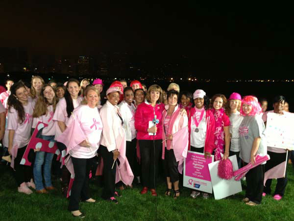 "<div class=""meta image-caption""><div class=""origin-logo origin-image ""><span></span></div><span class=""caption-text"">Roz Varon and supporters mark Breast Cancer Awareness Month</span></div>"
