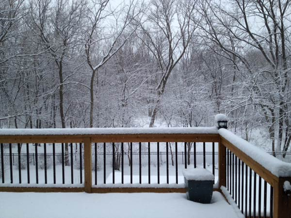 Submitted by an ABC 7 viewer from Elgin. Send your snow photos to USeeIt@abc7chicago.com