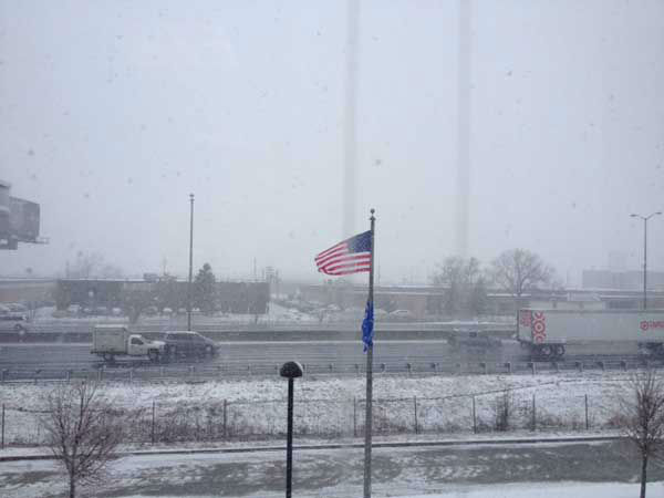 Submitted by an ABC 7 viewer from Franklin Park. Send your snow photos to USeeIt@abc7chicago.com