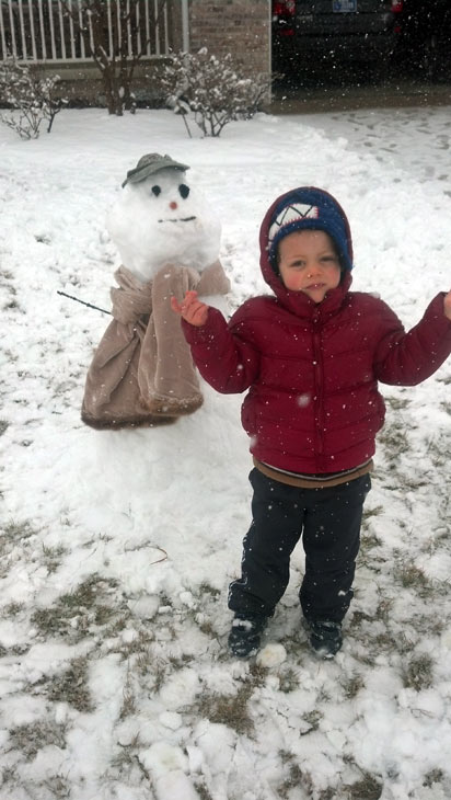 Submitted by an ABC 7 viewer from Munster. Send your snow photos to USeeIt@abc7chicago.com