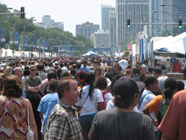 "<div class=""meta ""><span class=""caption-text "">Tens of thousands of people swarm booths in Grant Park at this year's taste of Chicago on July 12, 2012.  (Evan Peterson/ABC 7 Chicago.com)</span></div>"