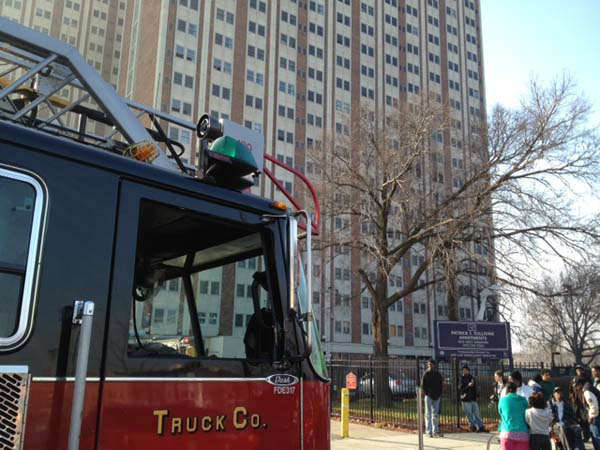 "<div class=""meta image-caption""><div class=""origin-logo origin-image ""><span></span></div><span class=""caption-text"">The fire was contained to a 9-floor unit in the 20-floor high-rise at 1633 West Madison known as the Patrick Sullivan Apartments.  (WLS Photo)</span></div>"