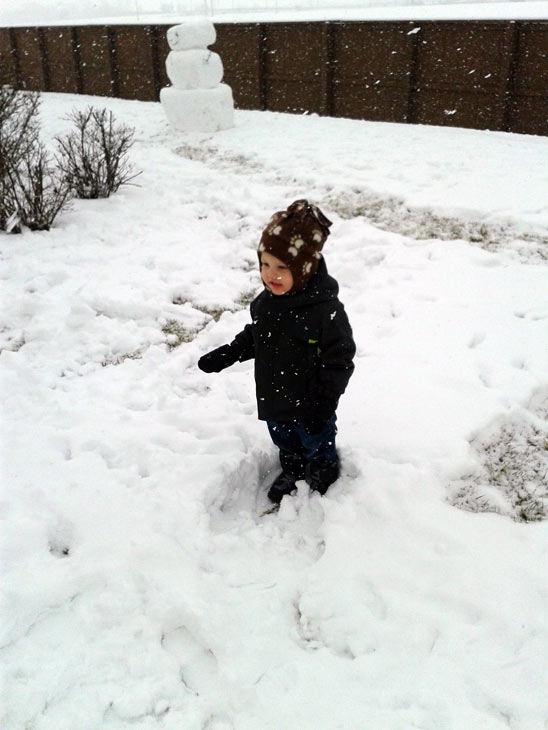 Submitted by an ABC 7 viewer from Shorewood. Send your snow photos to USeeIt@abc7chicago.com