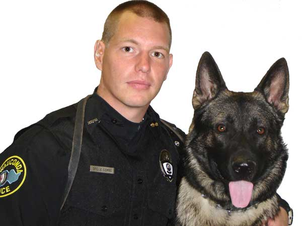 &#34;He&#39;s an excellent dog,&#34; Wauconda Deputy Chief Ted Hennessy said of Maxx. &#34;A lot of that is testament to his sergeant, how John trains him.&#34;  <span class=meta>(Wauconda Police Department)</span>